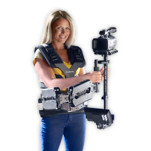 Glidecam X-10 Dual Support Arm Stabilizer Vest System Can