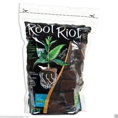 Organic Seed Starter - Root Riot 50 Cubes Plugs Pack Organic Seed Clone Starter Plugs HDI