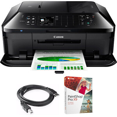 Canon Pixma Mx922 Wireless Inkjet Office All In One Printer W Paint Shop Bundle