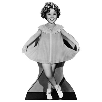 SHIRLEY TEMPLE Curtsey CARDBOARD CUTOUT Standup Standee Poster FREE SHIPPING