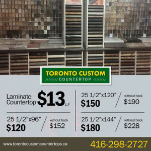 Laminate Counter tops from $13