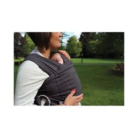 Close Caboo cotton blend baby sling carrier