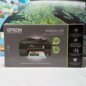 NEW IN BOX - Epson Workforce 320 All-In-One Inkjet Printer