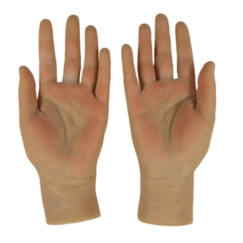 Male Hand One Pair Realistic Silicone Men