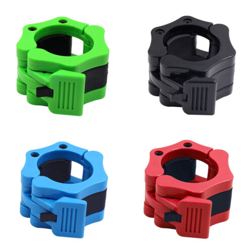 50mm Gym Weight Lifting Bar Collars Barbell Clamps Dumbbell