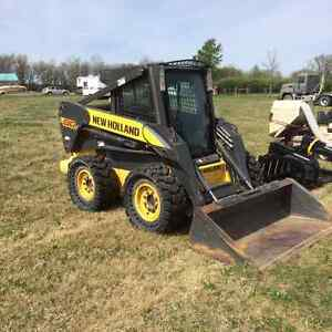 2008 New Holland Skid Steer for sale at ONLINE Auction May 4