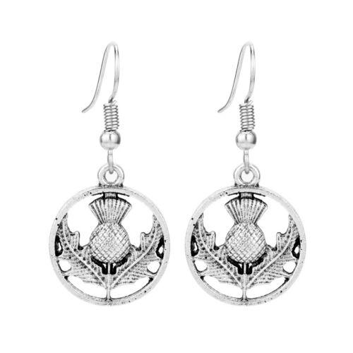 Celtic  Scottish Thistle  Earrings