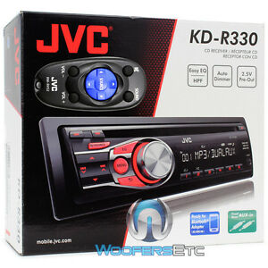 Brand New JVC KD-R3Single Din In-Dash CDCD-R