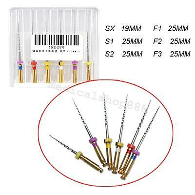 1 Pack Dental Endo Endodontic Niti Rotary Files Universe Engine 25mm Universal