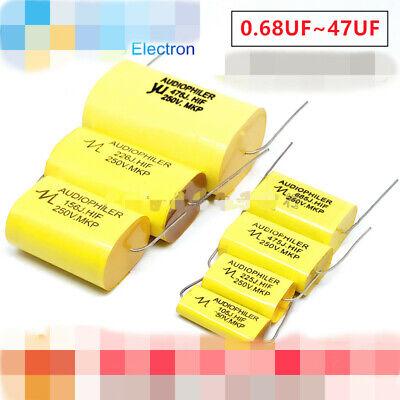 Audiophiler Mkp 250v 0.6812.244.75.68.2101547uf Audio Mkp Capacitor