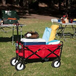 Garden Multifunctional Folding Cart Lawn Wagon 028003