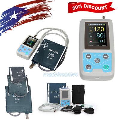 Contec Ambulatory Blood Pressure Monitorsoftware 24h Nibp Holter3 Cuffs Usa