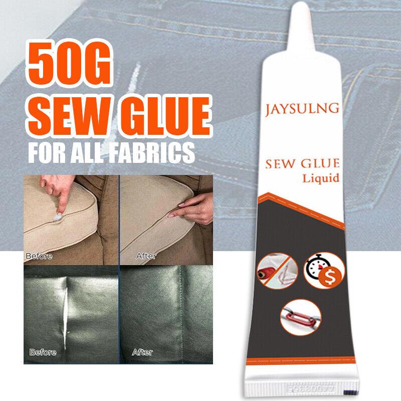 50g Sew Glue Liquid Bonding Repair For Clothes Denim Leather