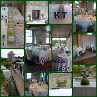 RECEPTION STAGING ON A BUDGET www.vickyannewrightstudios.com