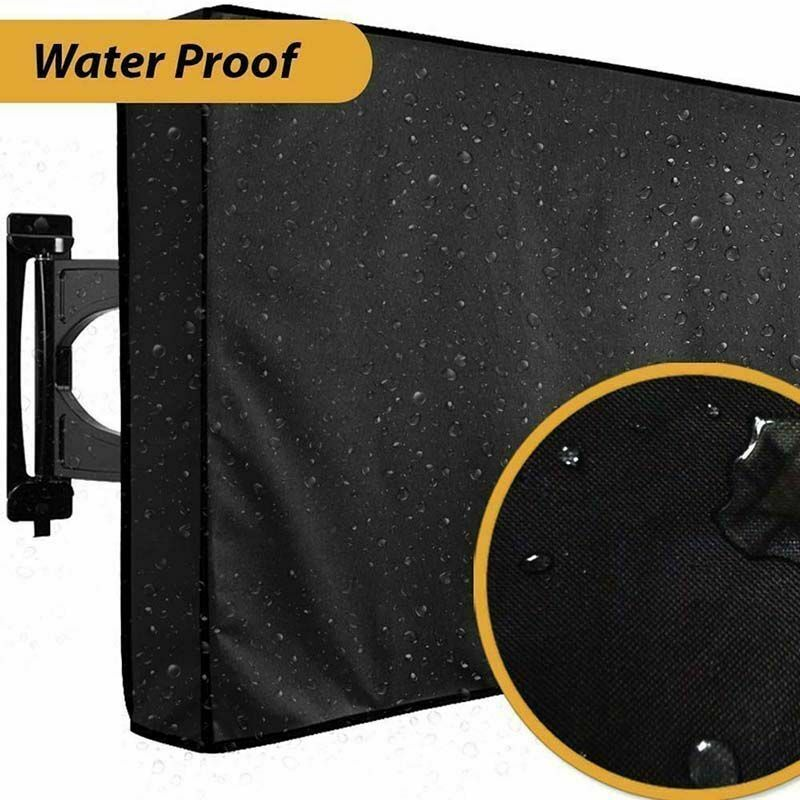 Outdoor Tv Cover Waterproof Flat Screen Cloth Outside Weathe