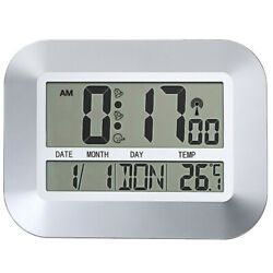 Digital Wall Clock, Indoor and Outdoor Temperature Condition:New
