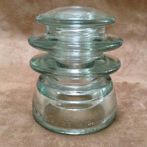 "KERR ""Pagoda"" look Glass Insulator - PRICE REDUCED"