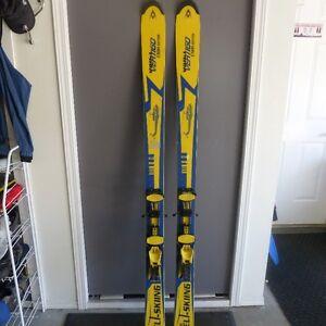 Volkl Vertigo CMH skis with Touring Bindings