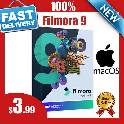 Filmora 9 (latest) ✔️ for MAC ✔️ 4k video editor ✔️ fast delivery