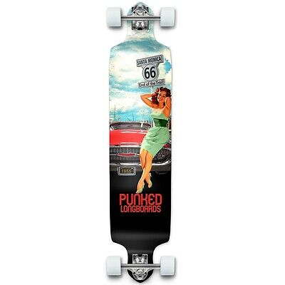 Yocaher Drop Down Longboard Complete - Route 66 Series - RTE-66