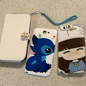 NEW Samsung Galaxy Note 2 CASE 3 CASE total $15 NEW NEVER USED T