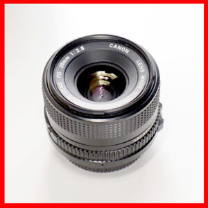 Canon FD 28mm F2.8 manual focus lens