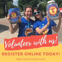 Volunteer at TD Sunfest! July 5-8
