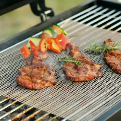 BBQ Baking Pad Grill Mat  Non-stick Mesh Wire Net Barbecue Grilling YY