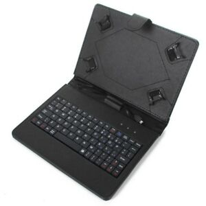 USB Keyboard Faux Leather Cover Case for Lenovo Tab 3 8""