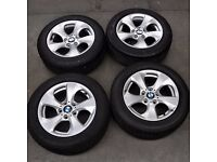 "16"" BMW Style 306 Alloy Wheels will fit Renault Traffic van"