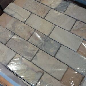 2x4 Gauged Mosaic Tile - 36 SQ FT