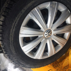 Barely Used Winter Tires Like New