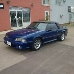 Mustang GT convertible (YouTube video) trades welcome.