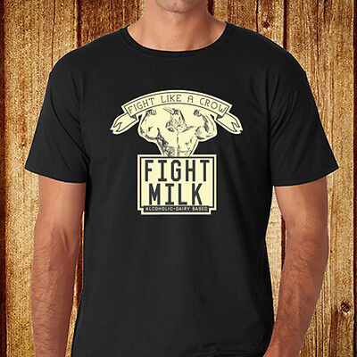 Its Always Sunny In Philadelphia Fight Milk Mens Black T Shirt Size S To 3Xl