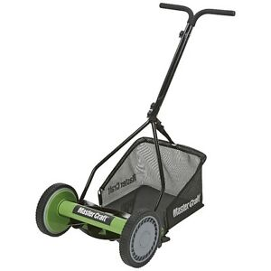 "Master Craft 14"" Repeat Reel Mower with Bag"