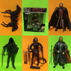 Lord of The Rings Action Figure Lot Toy Biz and Weta LOTR