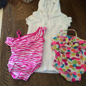 Summer Cloths baby girl 9-12 Months Includes Bathing Suits