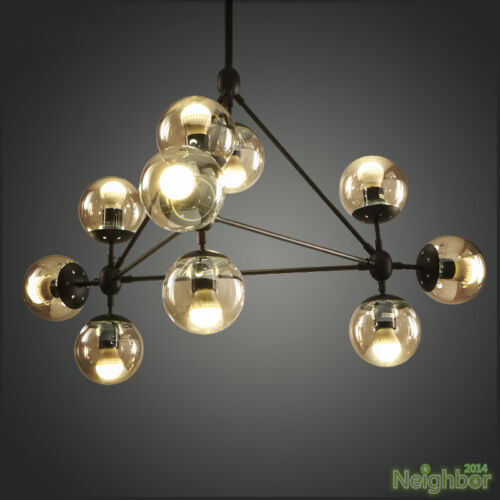 Industrial modo suspension led pendant lamp chandelier glass ball industrial modo suspension led pendant lamp chandelier glass ball ceiling lights aloadofball Choice Image