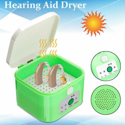 Qualität Elektronische Hörgerätetrockner Trockenbox Trockenstation für Hörgeräte