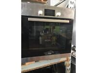 Brand New / Ex Display Bosch HBA13B150B Single 3D Hot Air Electric Oven Brushed Stainless Steel