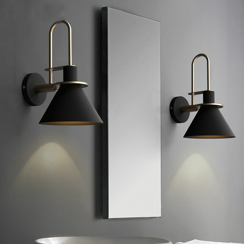 Details About Retro Lamps Wall Mounted Lighting Home Indoor Decor Led Bulbs Night Light Modern