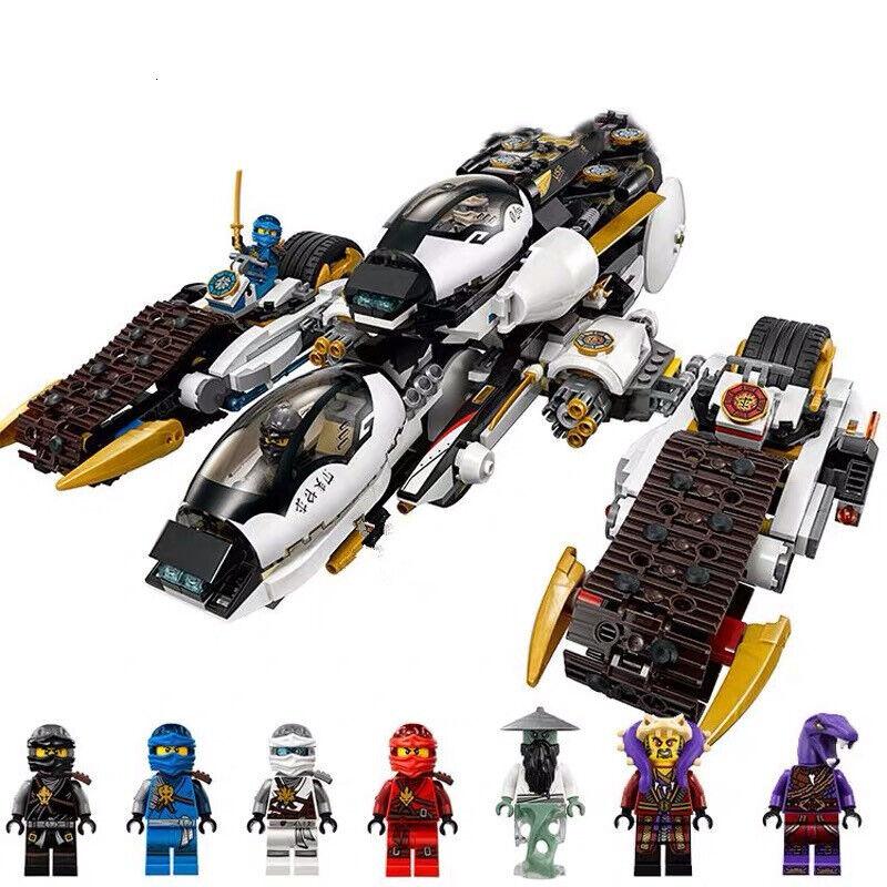 NINJAGO ULTRA STEALTH RAIDER TANK vs MASTER CHEN BATTLE SET fits lego