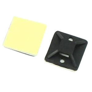 Cable Tie Mount - 20mm Square