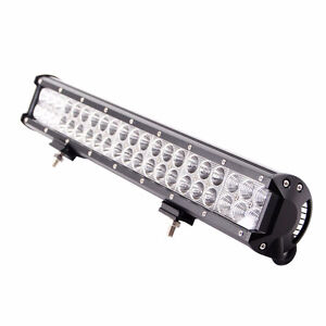 "20"" 126W CREE LED Light Bar offroad Jeep Truck"