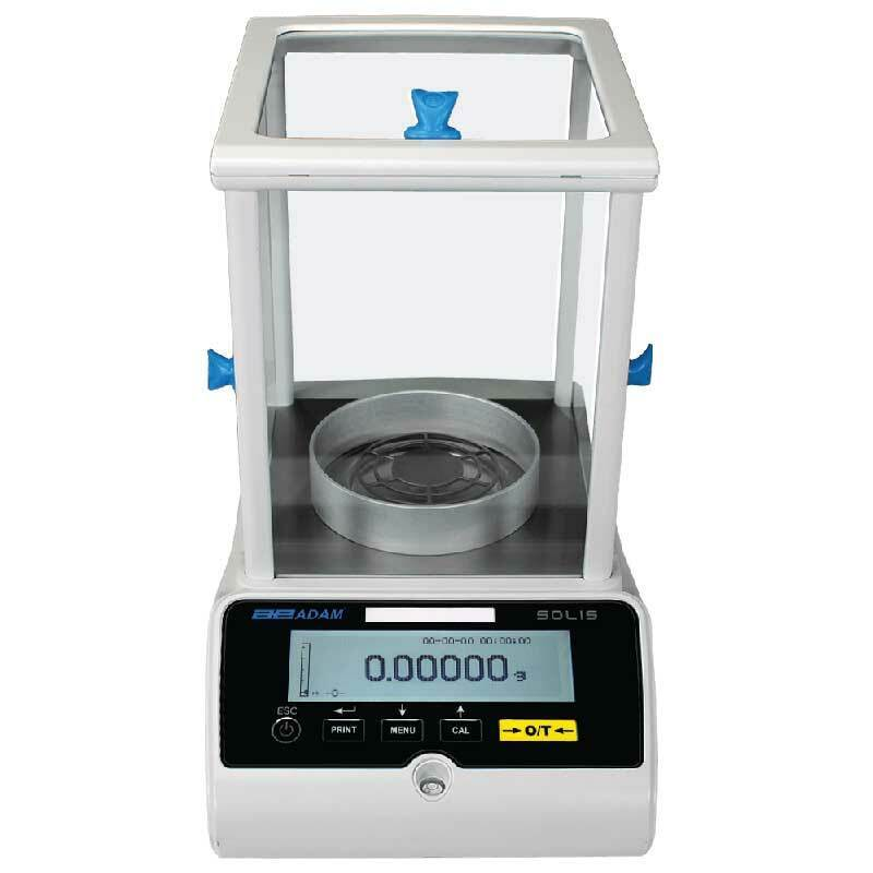Adam Equipment SAB 125i 62g/120g, Solis Semi-Micro and Analytical Balance