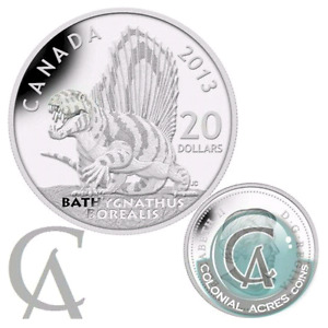 2013 DINOSAUR SILVER COIN - MINT CONDITION-RETIRED!!!
