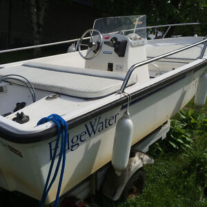 Boston wailer style 14ft 50hp Yamaha