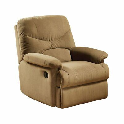 Microfiber Rocker Recliner in Tan by Acme Furniture