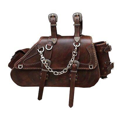 (Luggage Saddlebag Genuine leather Motorcycle Accessory HD Softail SB20 BIKELIST)