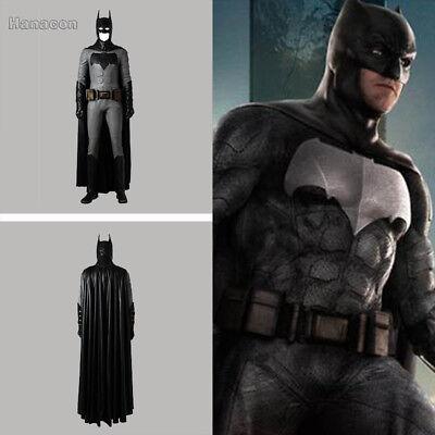 Batman Justice League Cosplay Costume Superhero Halloween Outfit Uniform Suit ](Halloween Batman Suit)